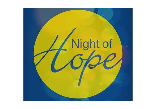 WGTS Encourages Thousands at Night of Hope