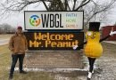 WBGL Welcomes Mr Peanut
